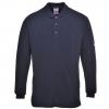 Огнестойкая антистатическая рубашка Поло с длинным рукавом FR10